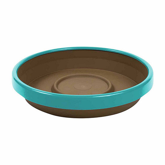 Bloem Terra Two Tone Planter Saucer - 6.5""