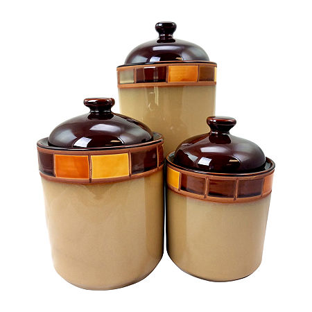 Gibson Canister, One Size , Brown