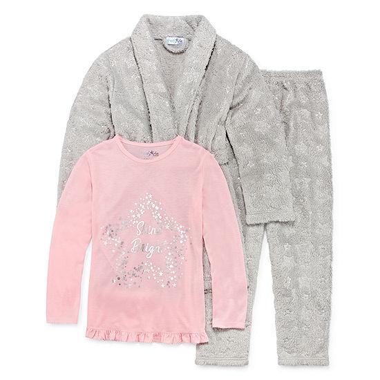 Bunz Kidz Shine Bright 3pc Pajama Set- Girls - JCPenney ef9c418e6