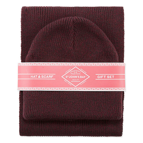 St. John's Bay® Hat And Scarf Set