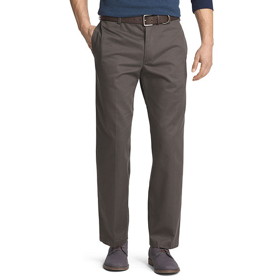 IZOD® American Chino Mens Classic Fit Flat Front Pant
