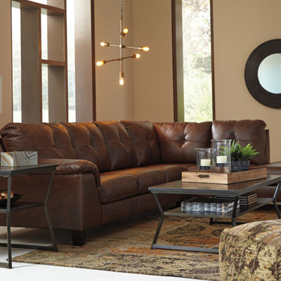 Signature Design by Ashley® Goldstone 2-Pc Sectional
