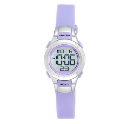 Armitron Unisex Purple Strap Watch-45/7012prsv