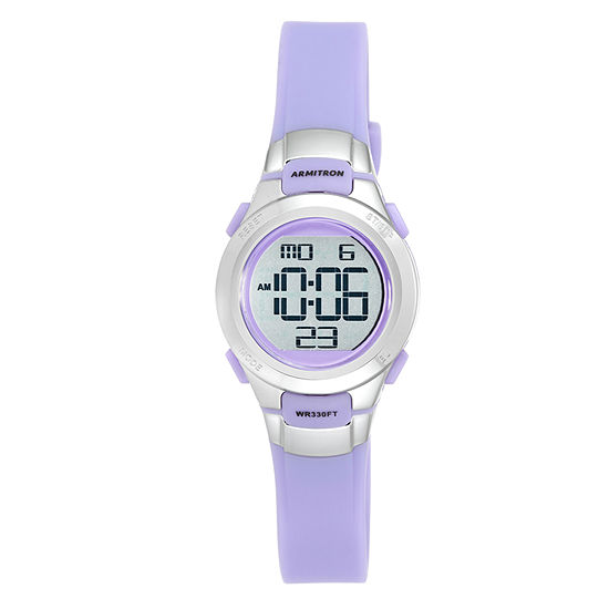 Armitron Unisex Purple Strap Watch-45/7012prsv