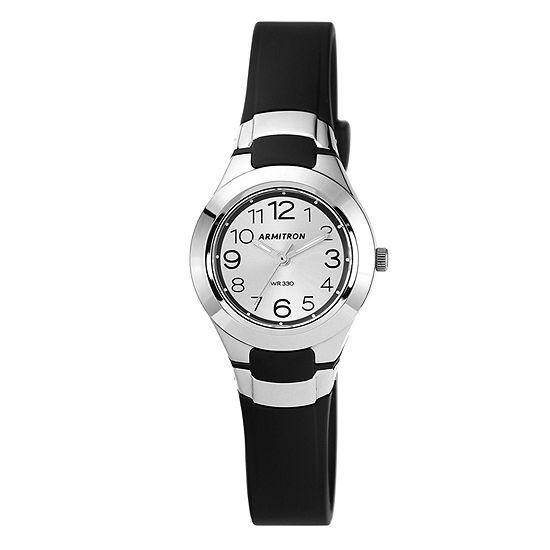 Armitron Pro Sport Unisex Black Strap Watch-25/6418blk