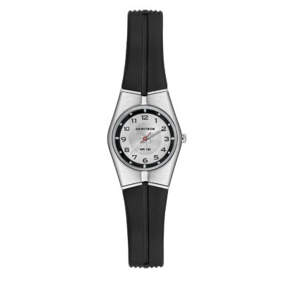 Armitron Unisex Black Strap Watch-25/6355slkt