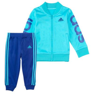 adidas 2-pc. Pant Set Girls Plus