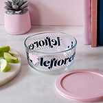 Pyrex Pyrex 4 Piece I Heart Leftovers Decorated Storage Set 4-pc. Bakeware Set