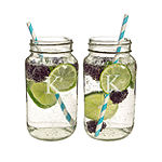 Cathy's Concepts 26oz. Personalized Mason Jars
