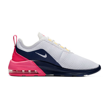 Nike Air Max Motion 2 Womens Running Shoes, 6 1/2 Medium, White