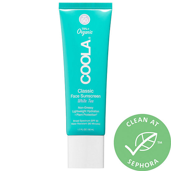 COOLA Classic Face Sunscreen SPF 50 White Tea