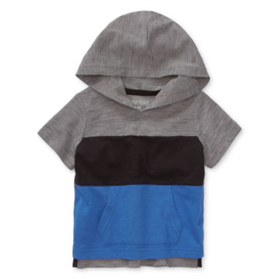 Okie Dokie - Baby Boys Crew Neck Short Sleeve Graphic T-Shirt