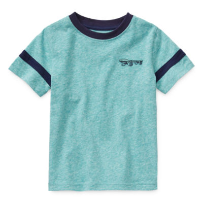 Okie Dokie Toddler Boys Crew Neck Short Sleeve T-Shirt