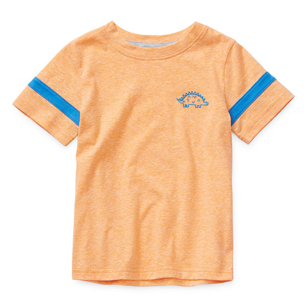 Okie Dokie-Toddler Boys Short Sleeve T-Shirt