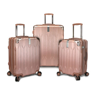 Travelers Choice Bell Weather 3-pc. Hardside Luggage Set
