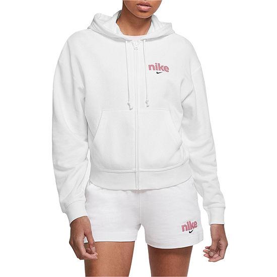 Nike Womens Hooded Neck Long Sleeve Hoodie