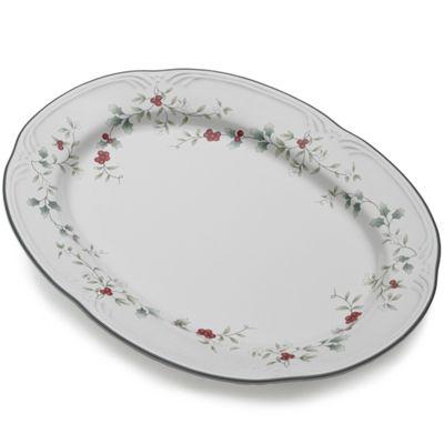 Pfaltzgraff® Winterberry Oval Serving Platter