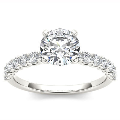 1 CT. T.W. Round White Diamond 14K Gold