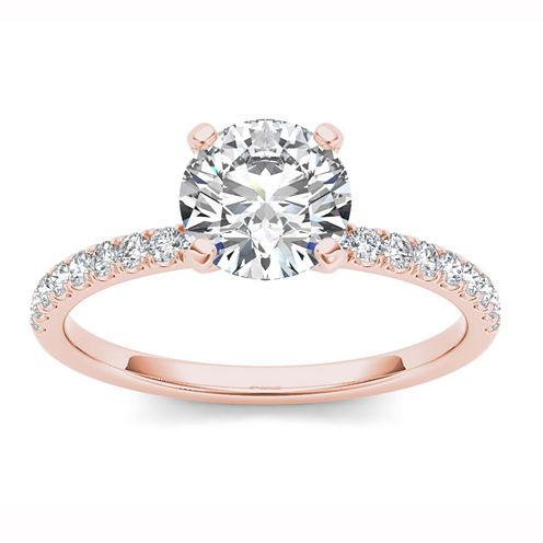 1 1/4 CT. T.W. Round White Diamond 14K Gold