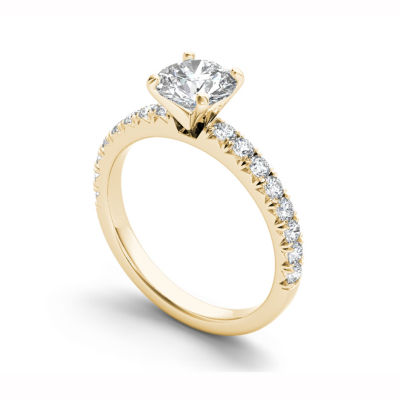 1 1/2 CT. T.W. Round White Diamond 14K Gold