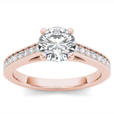 1 1/4 CT. T.W. Round White Diamond 14K Gold Engagement Ring