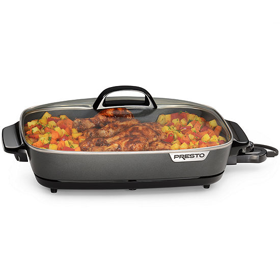 Presto® 16-inch Electric Slimline™ Skillet with Glass Cover