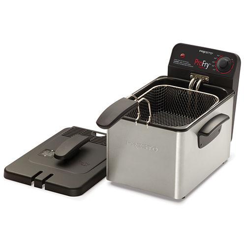 Presto® Stainless Steel ProFry Immersion Element Deep Fryer