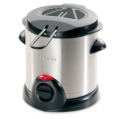 Presto® Stainless Steel 1 Liter Deep Fryer
