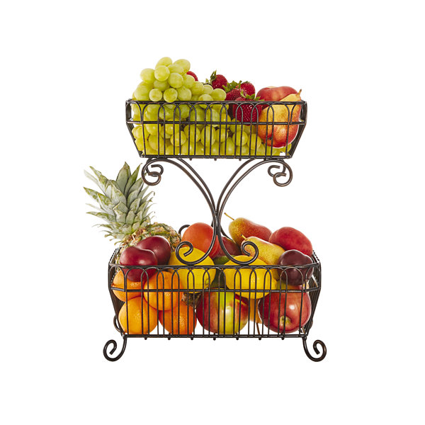 Gourmet Basics By Mikasa French Country Fruit Basket
