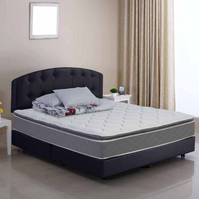 Wolf Corporation's Luxury Ultra Eurotop Wrapped Coil Mattress