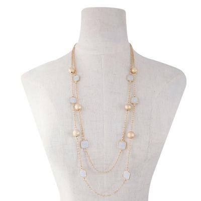 Monet Jewelry Womens Strand Necklace