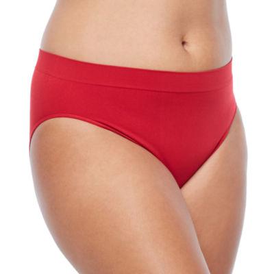 Ambrielle Plus Seamless High-Cut Panty