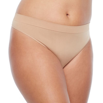 Ambrielle Thong Panty Plus Size