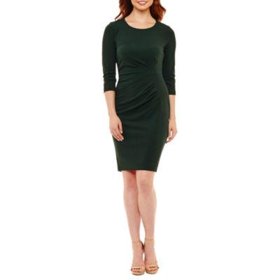 Rebecca B 3/4 Sleeve Sheath Dress