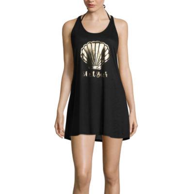 Miken Swimsuit Cover-Up Dress-Juniors