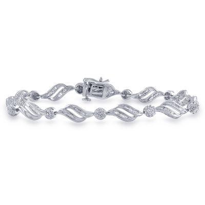 Sterling Silver Casted Link Bracelet