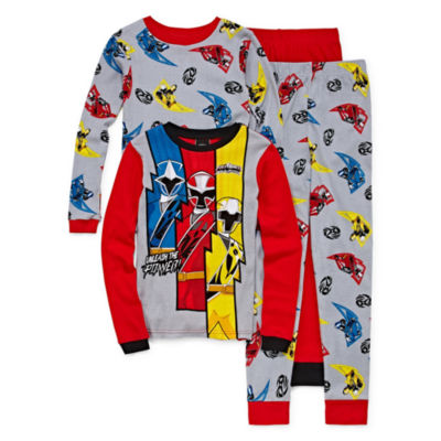 Power Rangers 4PC Pajama Set-Big Boy