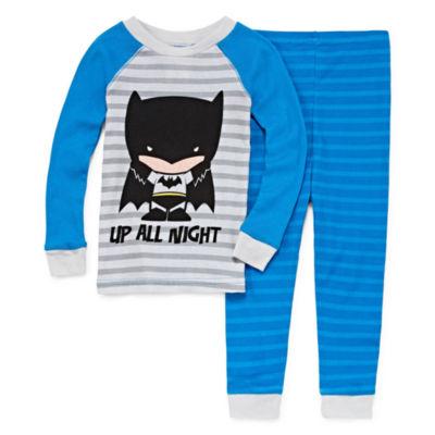 Batman 2 Piece Pajama Set - Toddler Boys