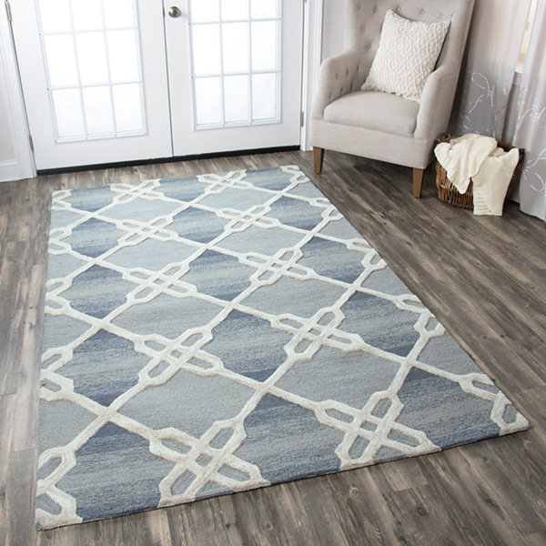 Rizzy Home Caterine Collection Paige Geometric Rectangular Rugs