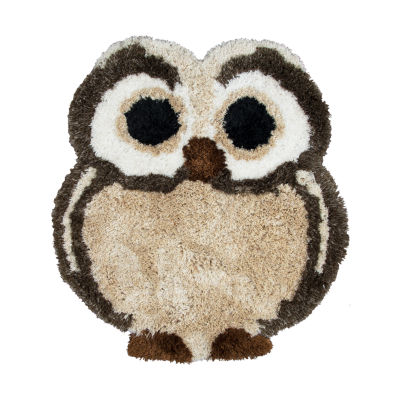 Rizzy Home Commons Collection Eden Owl Rug