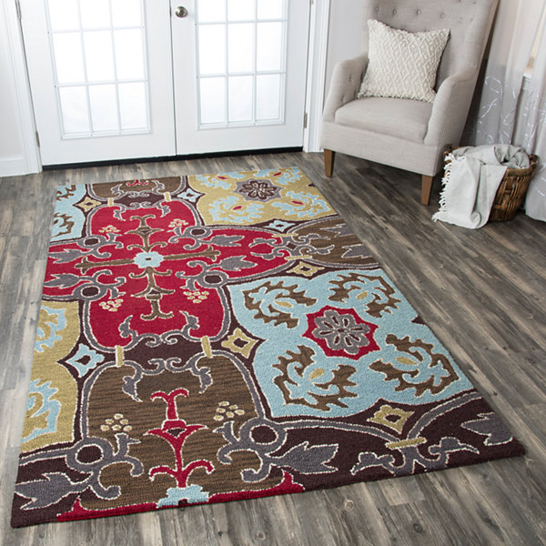 Rizzy Home Country Collection Athena Oriental Rugs