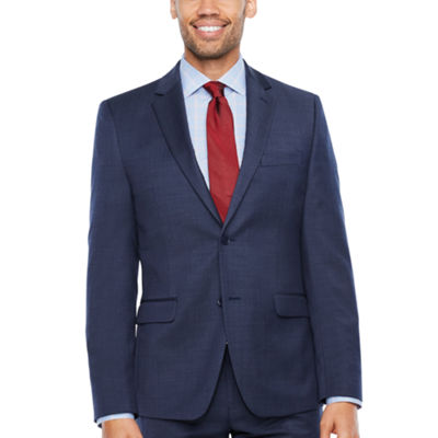 Collection by Michael Strahan  Pin Dot Slim Fit Stretch Suit Jacket-Slim
