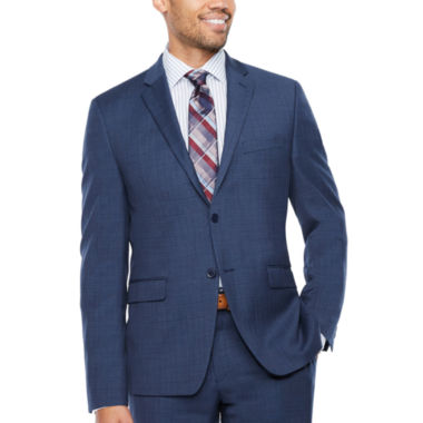 Collection by Michael Strahan  Pattern Slim Fit Stretch Suit Jacket-Slim