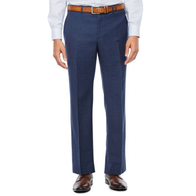 Collection by Michael Strahan  Pattern Slim Fit Stretch Suit Pants - Slim