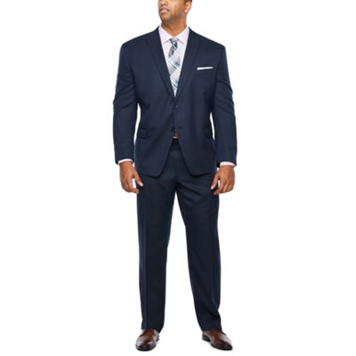 Collection by Michael Strahan Navy Birdseye Suit Separates-Big and Tall