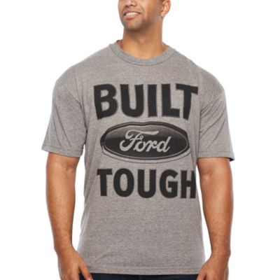 Ford Built Tough Short Sleeve Automotive Graphic T-Shirt-Big and Tall