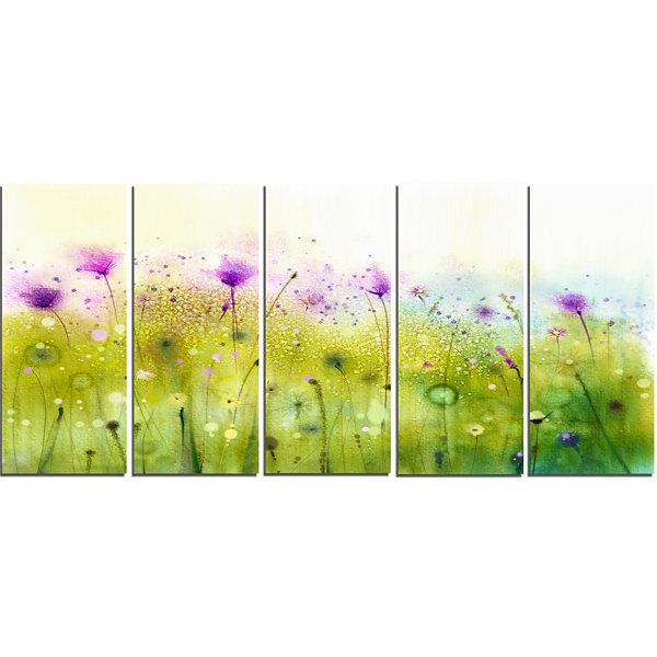 Fine Purple Canvas Wall Art Photos - Wall Art Design ...