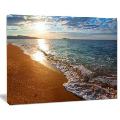 Designart Gili Island Tropical Beach Seashore Canvas Print