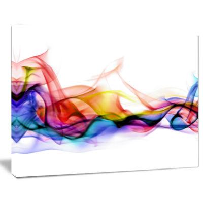 Design Art Abstract Smoke Contemporary Artwork