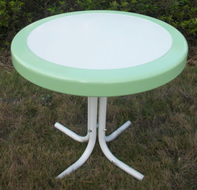 4D Concepts Metal Retro Round Table
